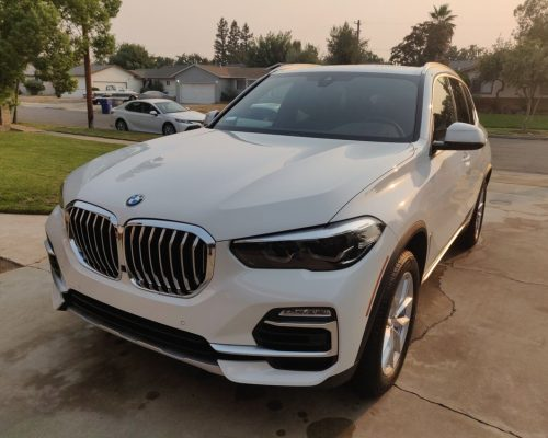 BMW SUV fully detailed by Danny spotless touch